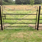 Estate fencing gate 6ft self closing